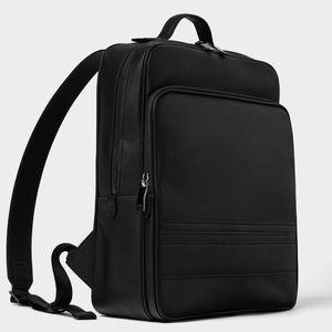 Zara black men's dress backpack